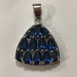 Jewelry - Beautiful Tear Drop sapphires Pendant